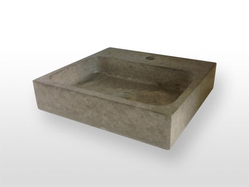 Wastafel beton solidly for Wastafel rechthoekig